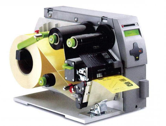 barevná termotransferová tiskárna