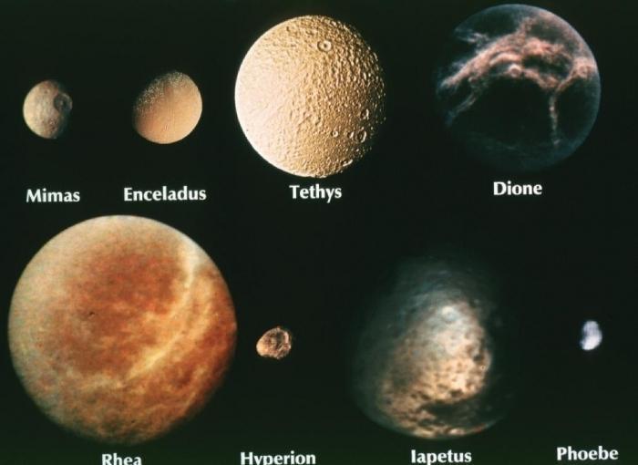 колко сателита имат сатурн