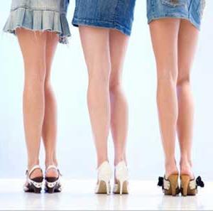 тънки крака