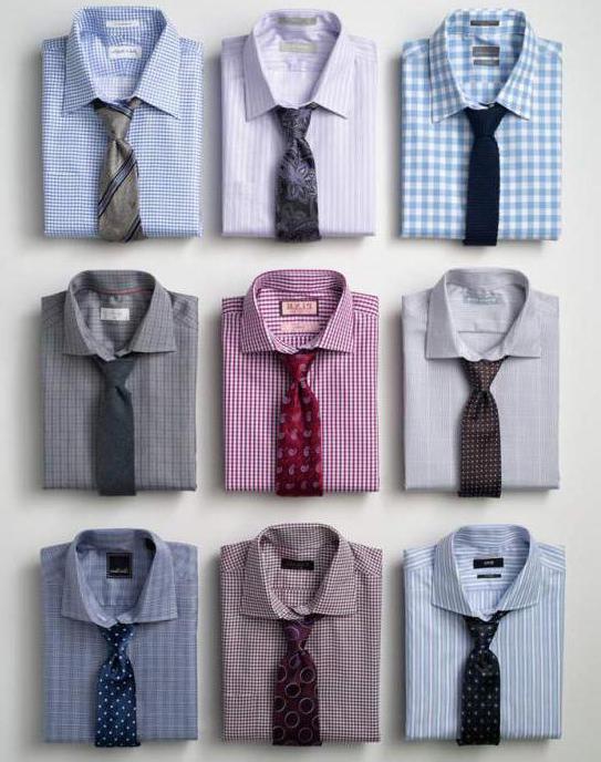 krawat z krótką koszulą zdjęcie