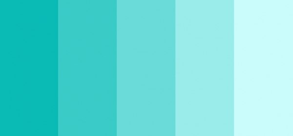 Tiffany barvna paleta