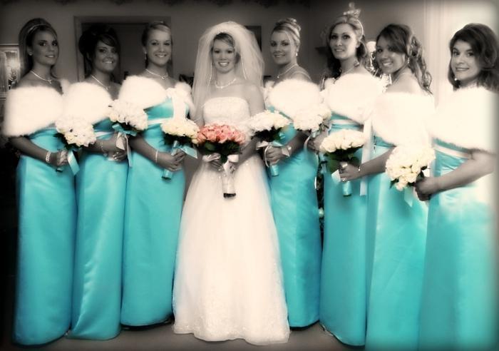 Tiffany modra barva