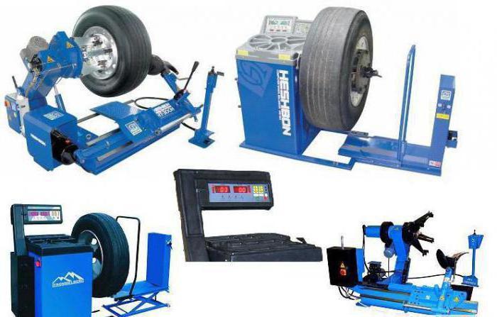 macchina per pneumatici semiautomatica