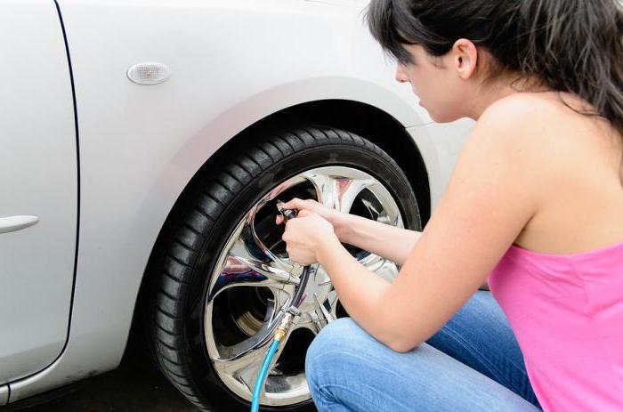 tlak u gumama ovisno o veličini