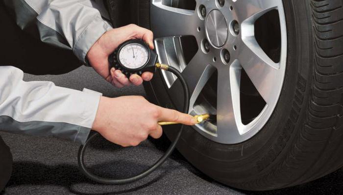 tlak u gumama u odnosu na veličinu gume ljeti