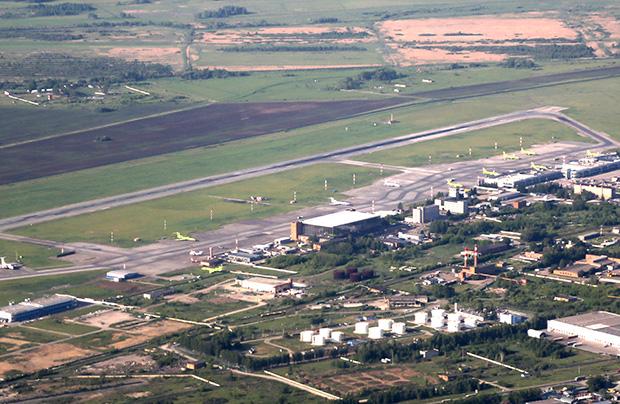 Letališče Tolmachevo v Novosibirsku