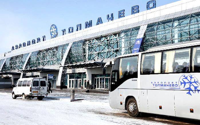Avtobusi Novosibirsk - Letališče Tolmachevo