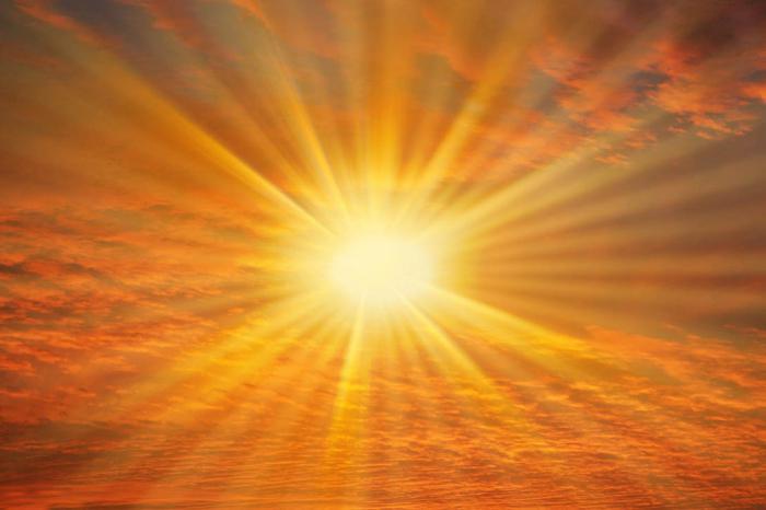 radiazione solare totale in Russia