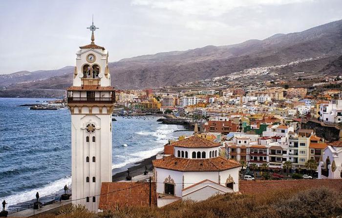Ogledi iz Petersburga na Tenerife