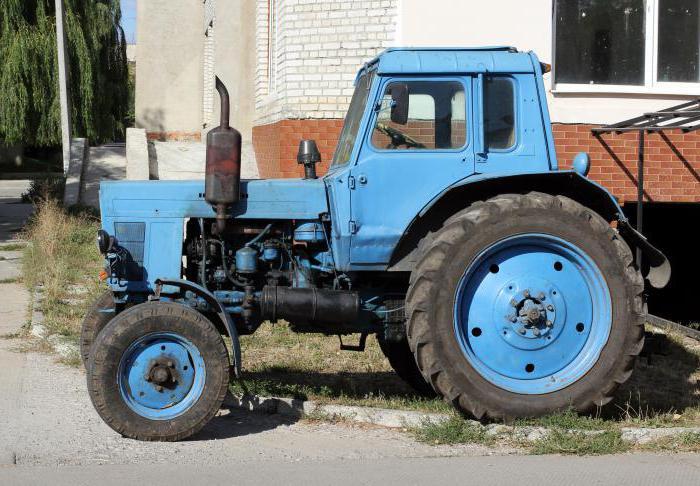 Технически спецификации на трактора МТЗ-80