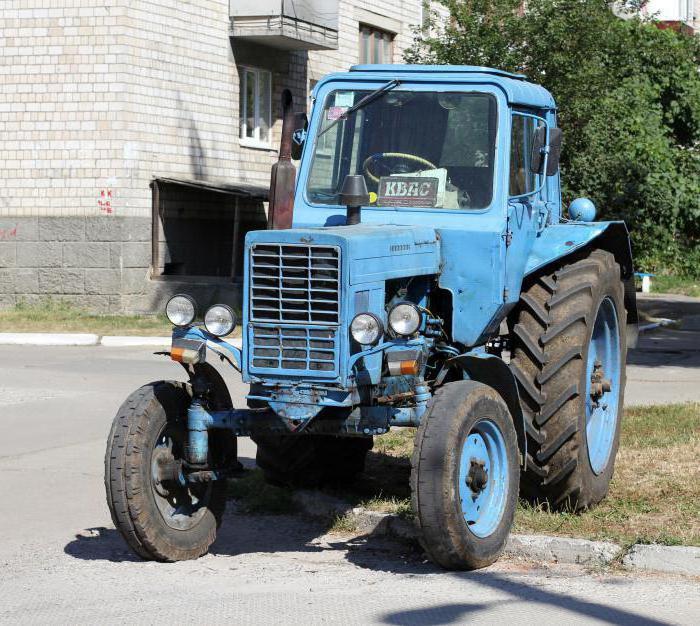 Описание на трактора МТЗ-80
