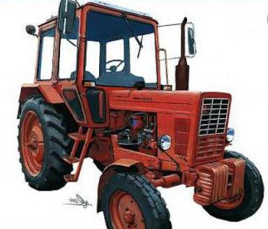 трактор МТЗ-80 описание технически характеристики