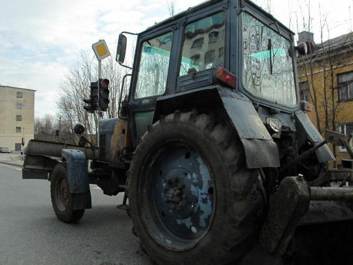 ремонт на трактора МТЗ-80