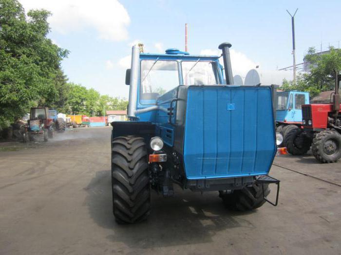 caratteristica del trattore t 150k