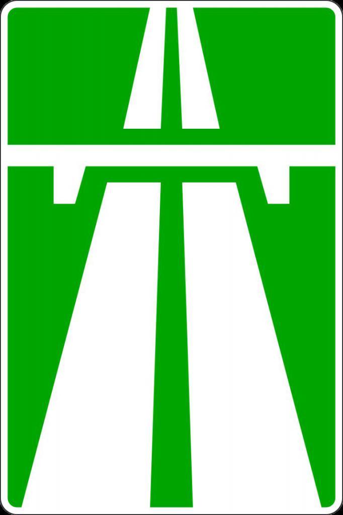 Segno dell'autostrada