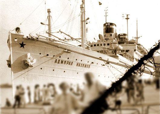 zdjęcie krążownik admirał nakhimov