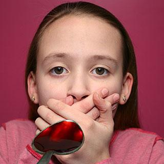 Trattamento della tosse secca in un bambino