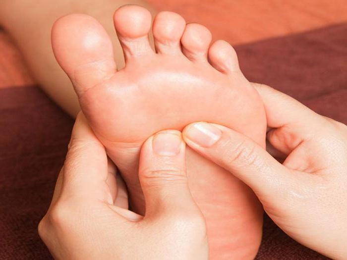 leczenie urazów stóp przez środki folk