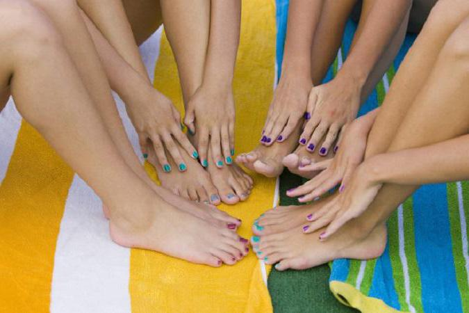 pedicure estive