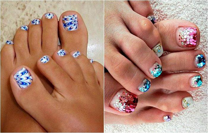 idee di pedicure estive