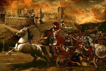 la causa della guerra di Troia