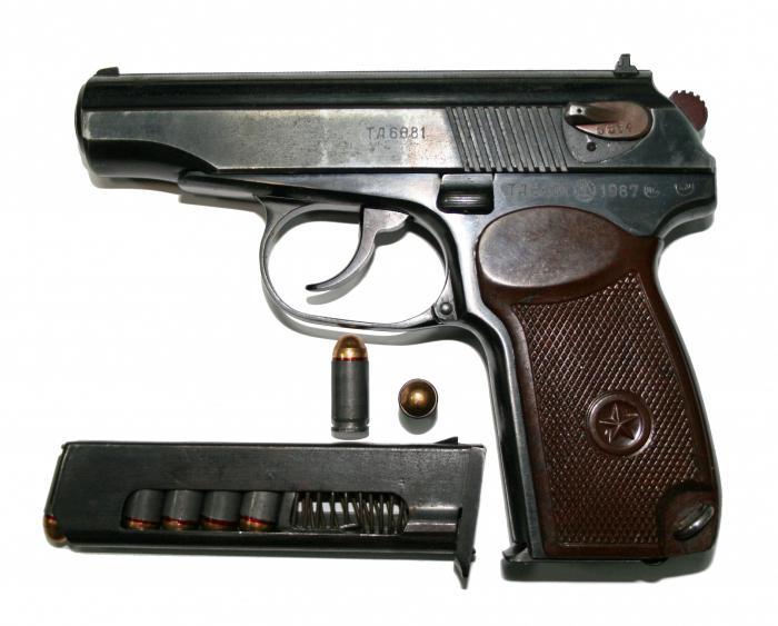 pištolo Makarov