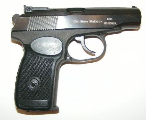 La pistola traumatica di Makarov