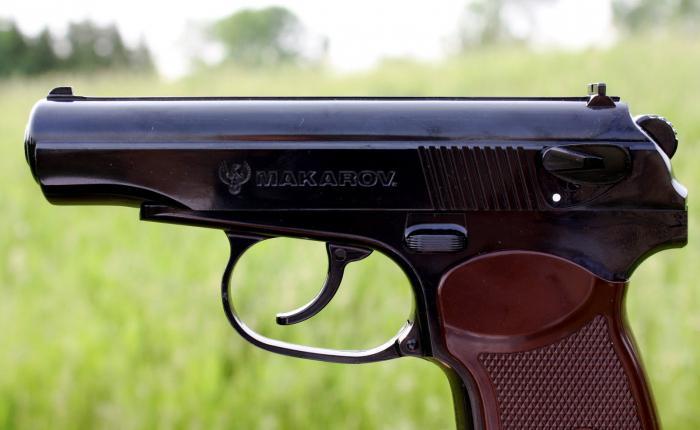 Calibro di pistola Makarov