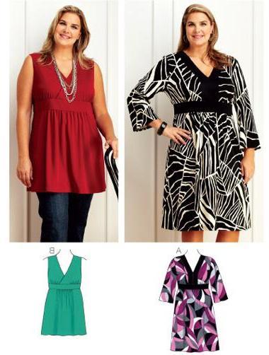 Stilovi ženske tunike za punu