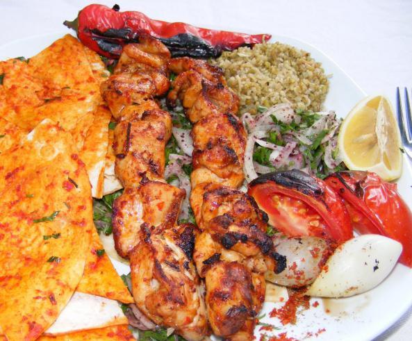 ricetta di tacchino kebab