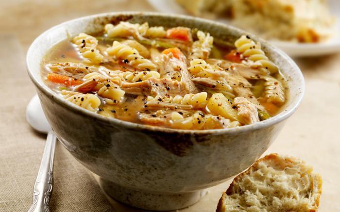 Ћуретина супа у лонцу