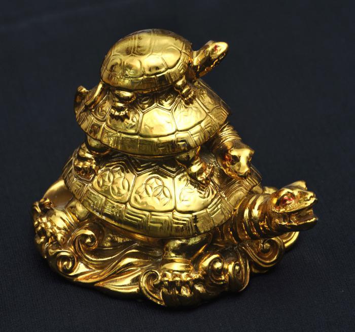 костенурката е символ на това, което е в Русия