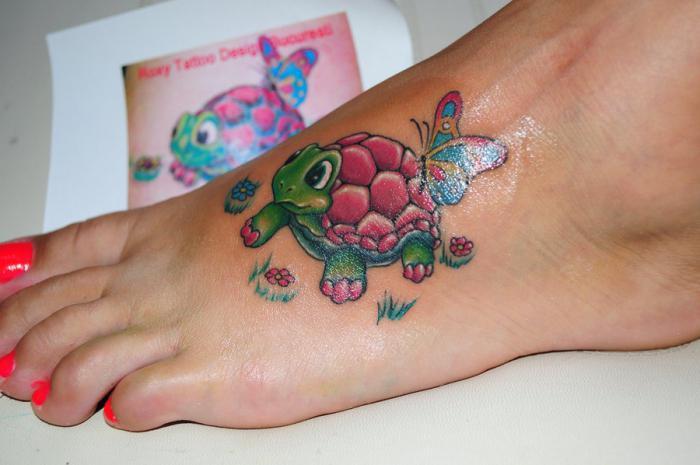 костенурката е символ на това, което е в будизма