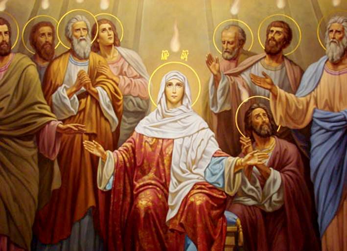 Силазак Светог Духа на апостоле
