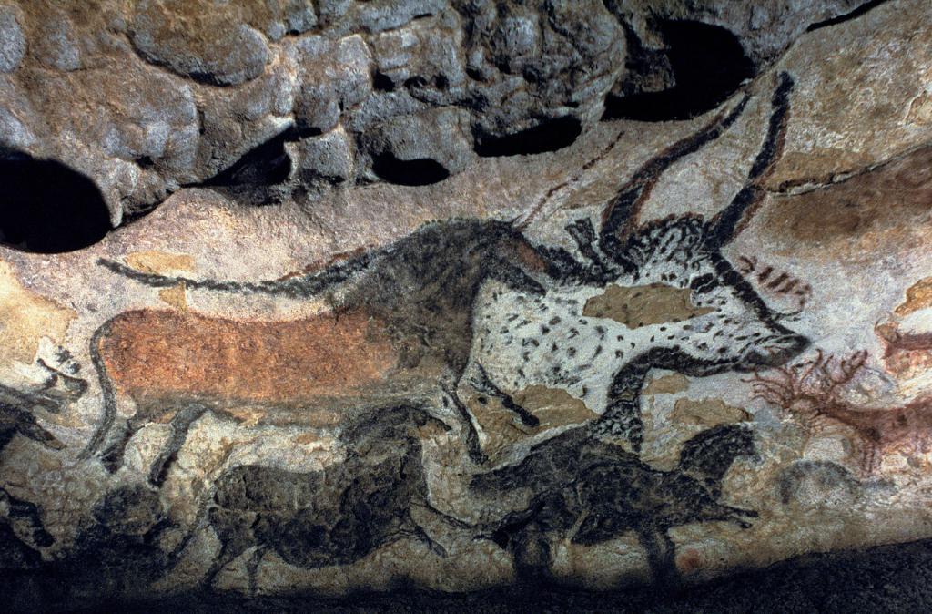L'arte primitiva, che apparve nel tardo Paleolitico