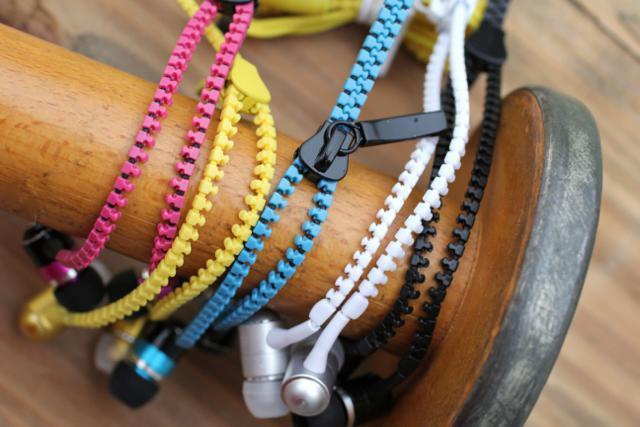 слушалки под формата на цип