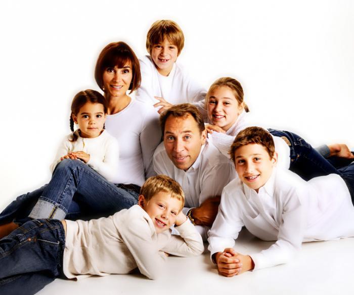 видове семейства