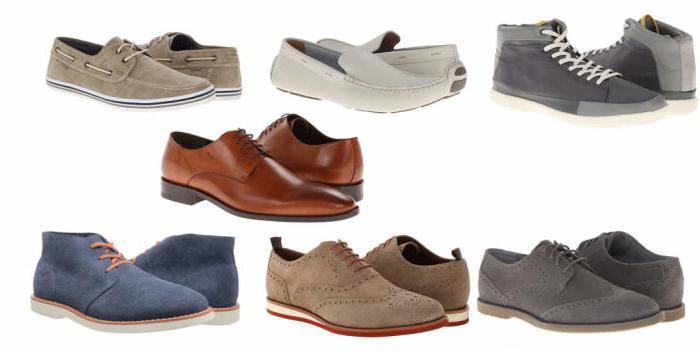 tipi di scarpe da uomo con foto