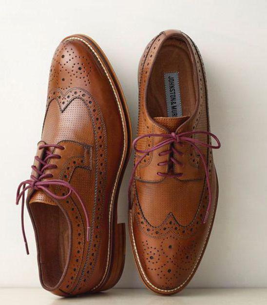 tipi di scarpe da uomo e cosa indossare