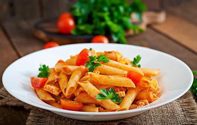 tipi di pasta italiana