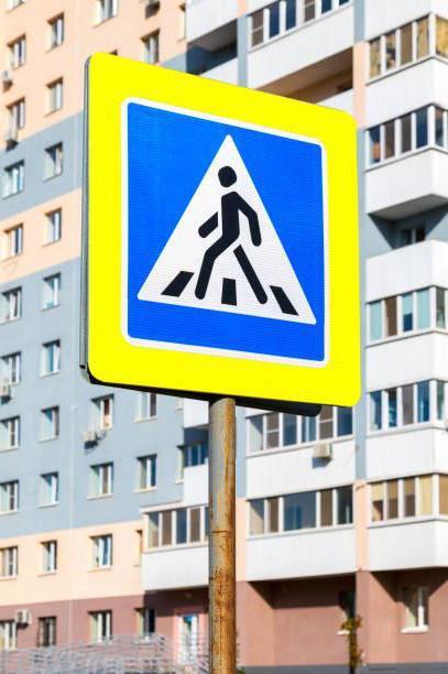 główne rodzaje znaków drogowych
