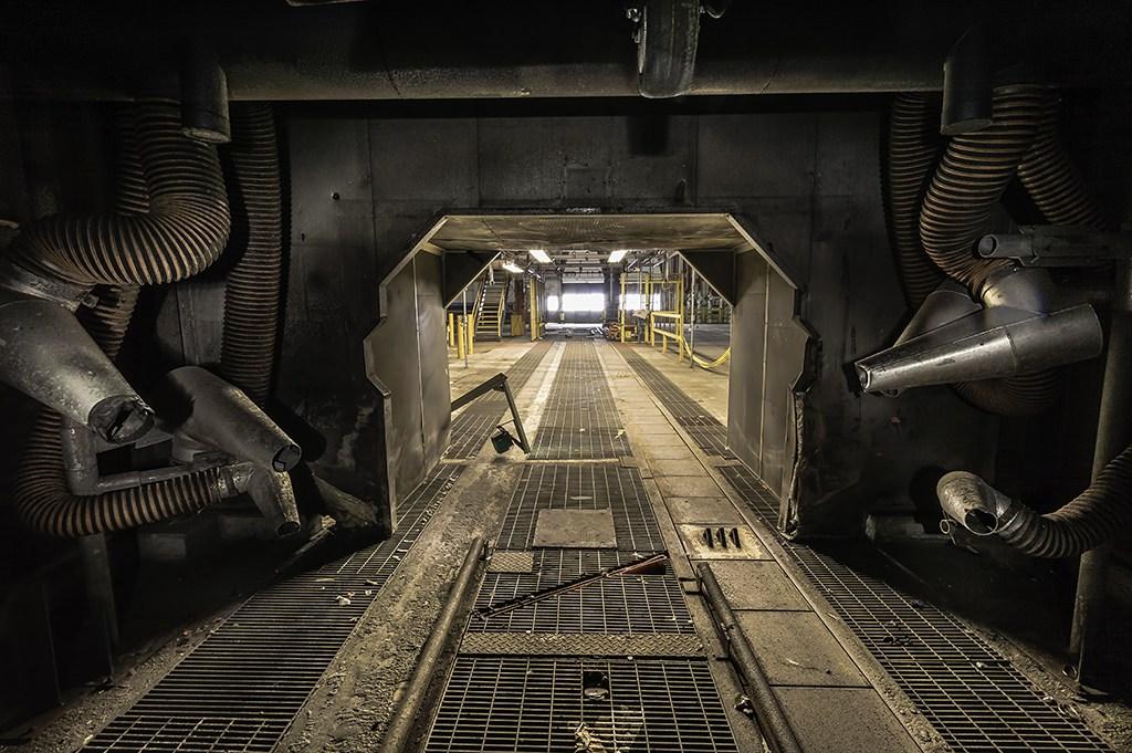 zapuščen industrijski objekt