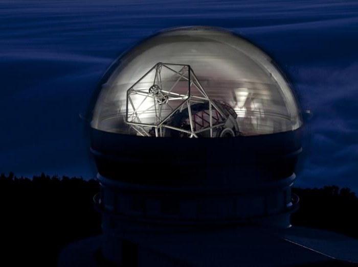 największy teleskop