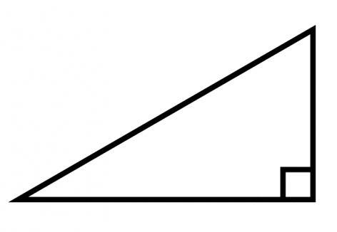 Triangolo di 90 gradi
