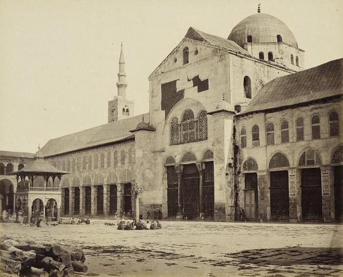 Описание на Джамията на Умайяд
