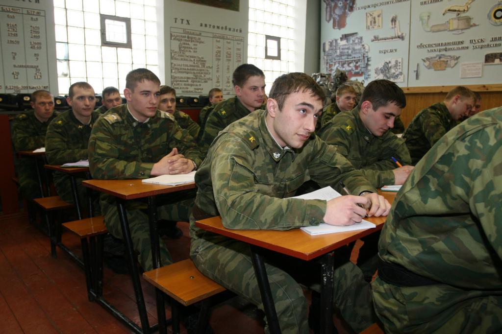 Studenti dell'Accademia militare