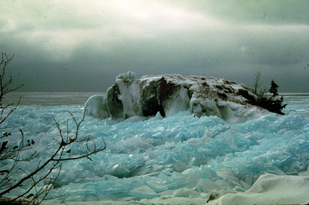 Lago Superiore in inverno