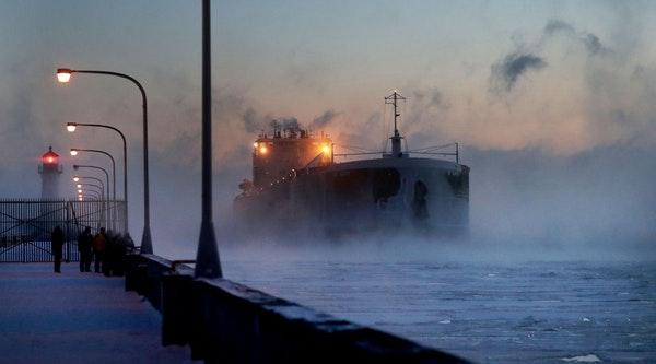 porto sul Lago Superiore