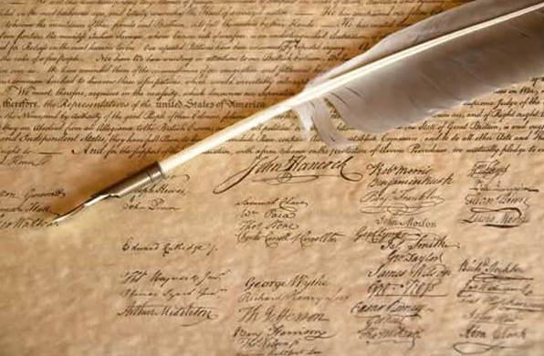 Potpisi na Deklaraciji o neovisnosti