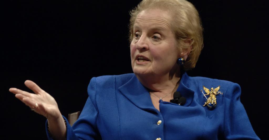 Madlein Albright - Ex Segretario di Stato americano